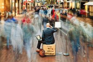 Commercieel portret van een ondernemer.
