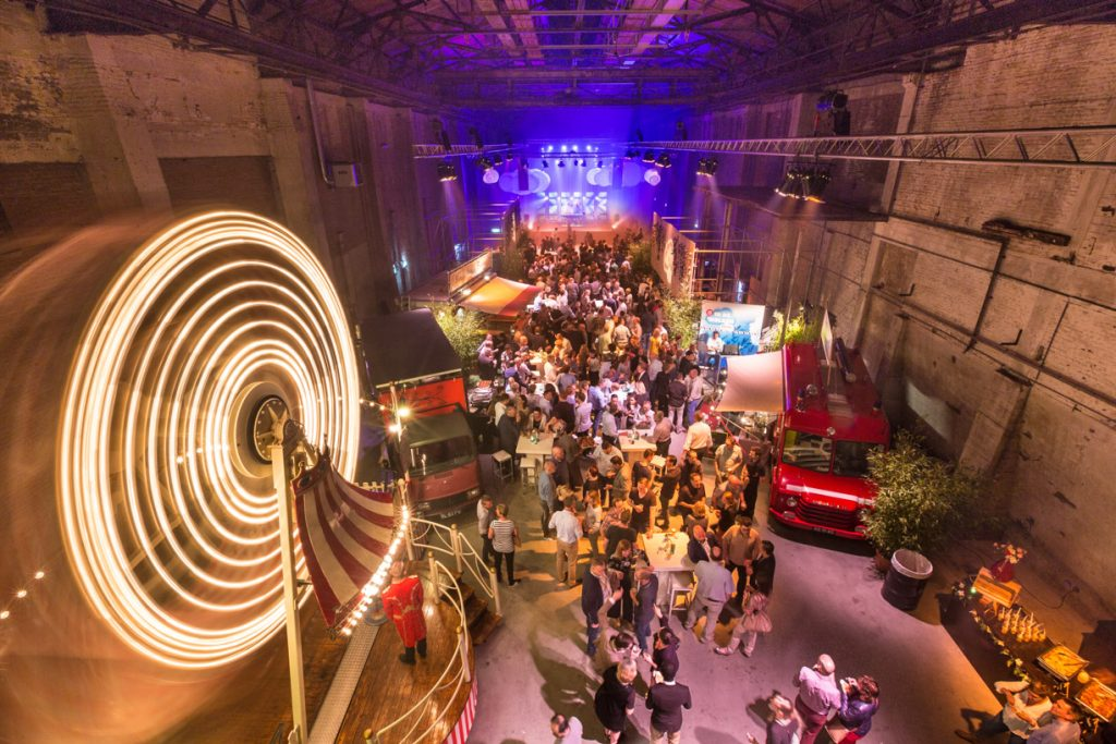 Fotoreportage van een event in de oude CHV fabriek in Veghel.