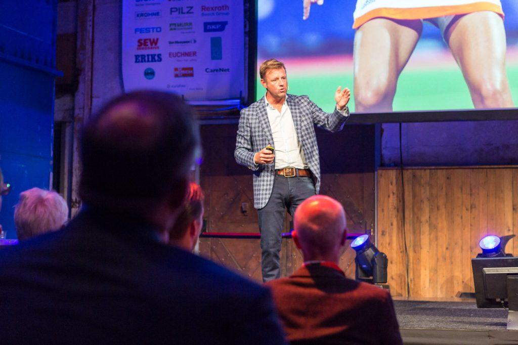 Mark Lammers gastlezing event Utrecht.
