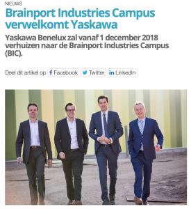 Persfoto Brainport Industries Eindhoven