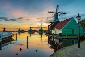 Windmills Zaanse Schans.