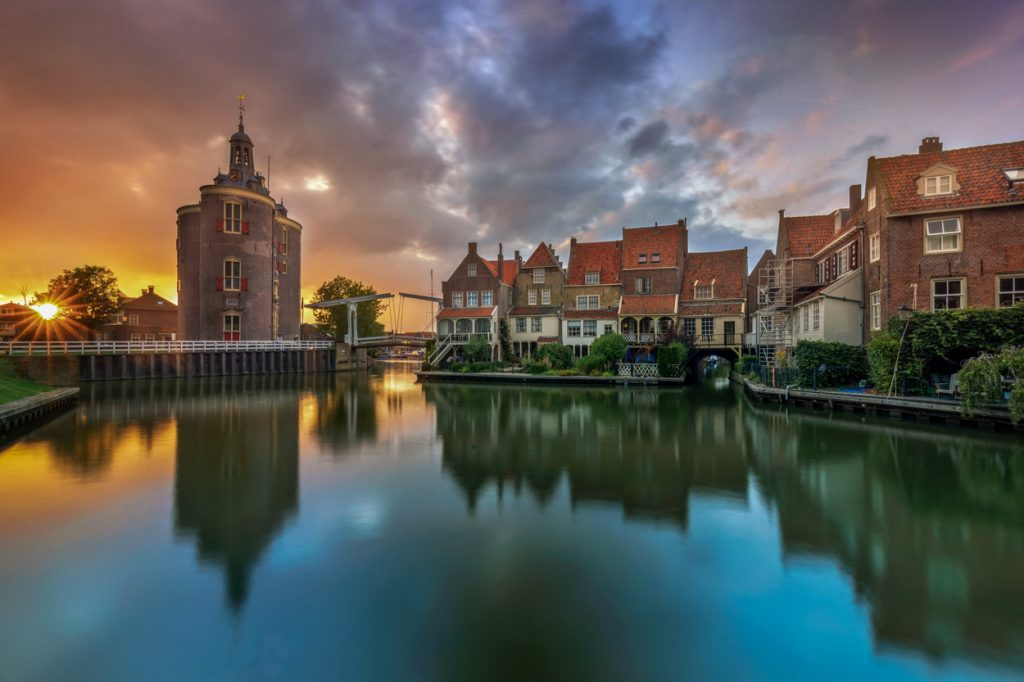 Enkhuizen, former harbour town.