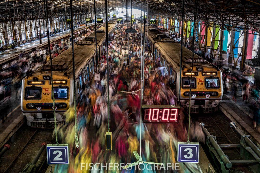 Journalistieke foto die de overbevolking pakkend in beeld brengt.
